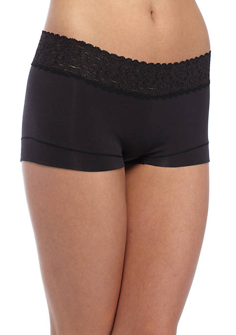 Maidenform® Dream Cotton Lace Boy Short