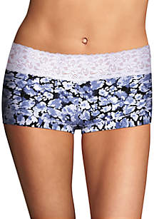 Dream Cotton Lace Boy Short