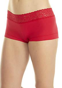 Dream Cotton Lace Boy Short
