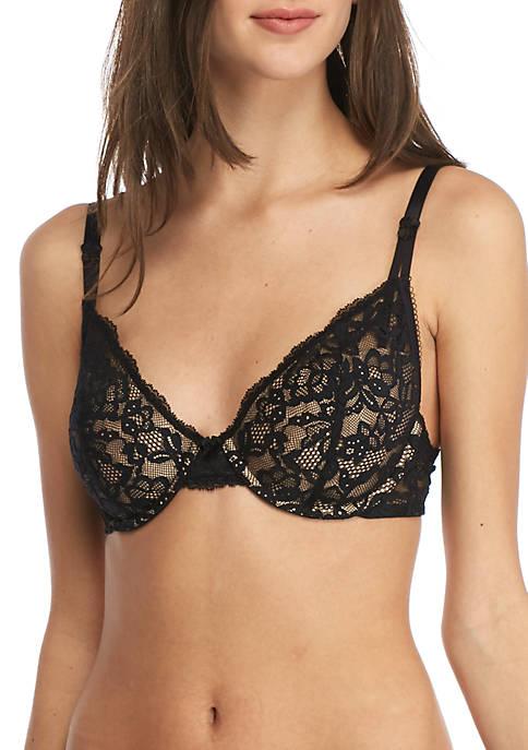 Lace Demi Underwire Bra- DM9601