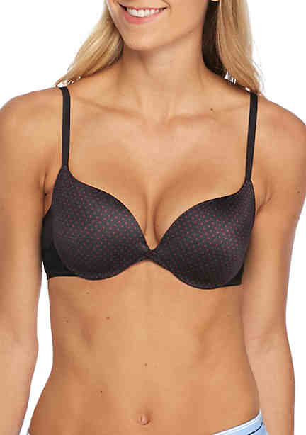 632 ABS Intimates Maidenform Underwire Bra with Lace Black