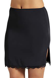 No Panty Line Promise Tactel Nylon Lace Half Slip - 1320