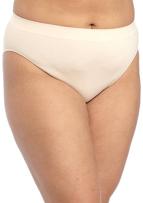 New Directions® Plus Size Seamless Hi-Cut Brief