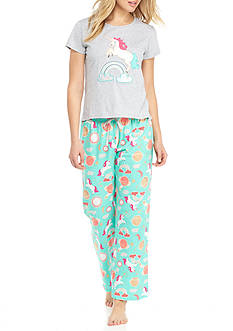 PJ Couture Unicorn Pajama Set - 81924