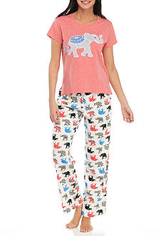 PJ Couture Elephant Pajama Set - 81925
