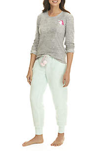 2-Piece Unicorn Jogger Set