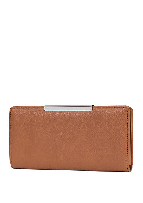 Better Than Leather Slim Wallet with Minibar