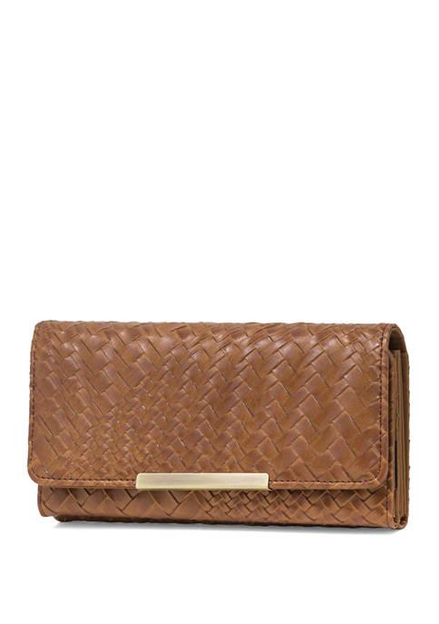 Woven Filemaster Wallet