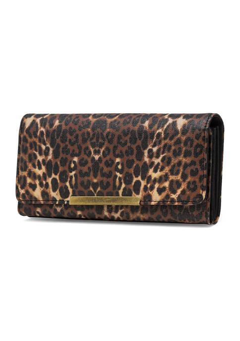 Leopard Mini Bar Filemaster Wallet