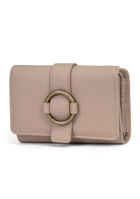 Pebble Belted Wallet