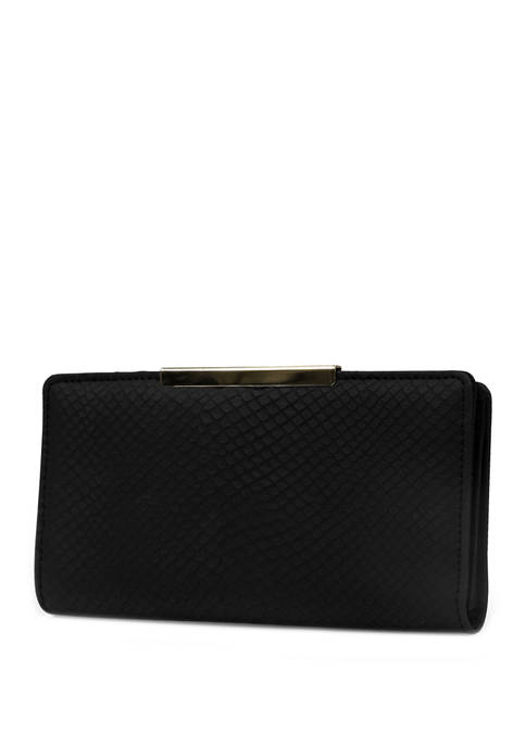 Fierce Snake Slim Clutch Minibar Wallet