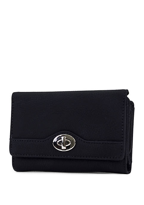 New Directions® Nubie Amsterdam Wallet with Faux Lock