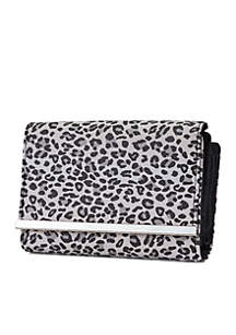 Leopard Full Bar Amsterdam Wallet With Safekeeper