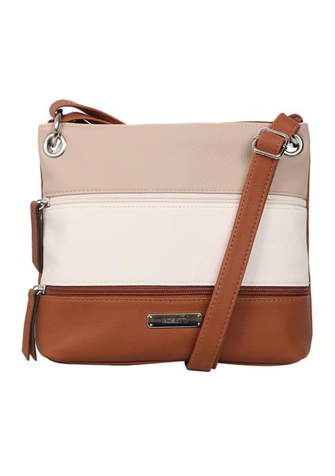 Rosetti Demi Hickory Crossbody Bag