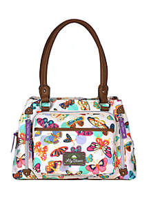 Lily Bloom Maggie Triple Compartment Satchel