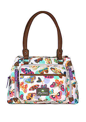 888622b2c20f3 Lily Bloom Maggie Triple Compartment Satchel ...