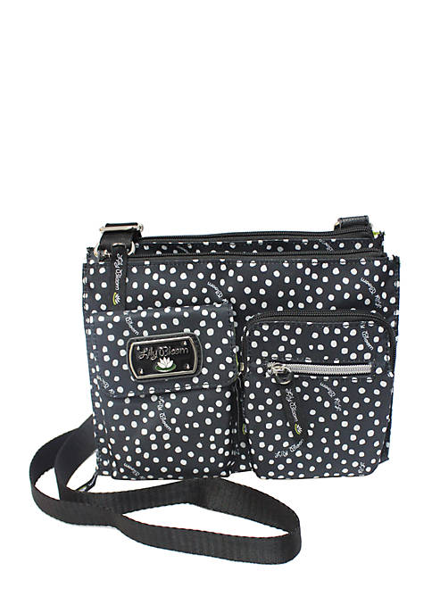 Lily Bloom Adjustable Hobo Crossbody