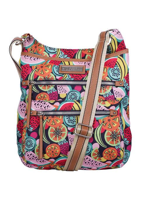 Lily Bloom Fruit Fizz Crossbody Bag