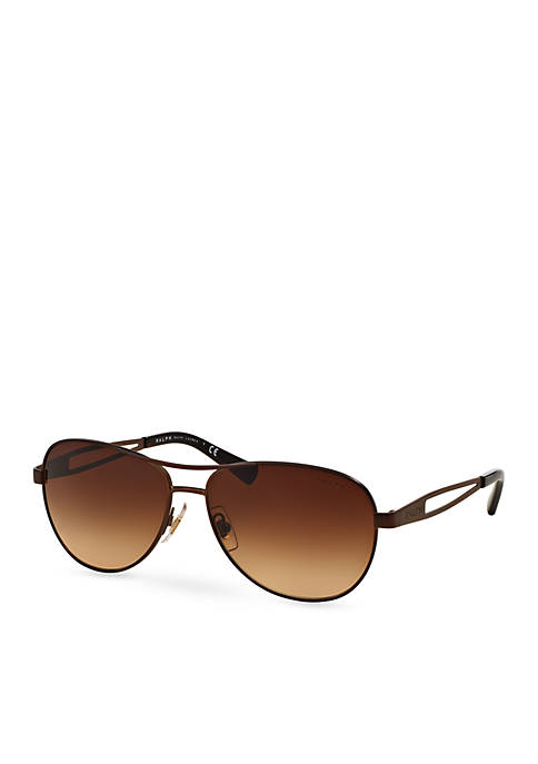 Vented Aviator Sunglasses