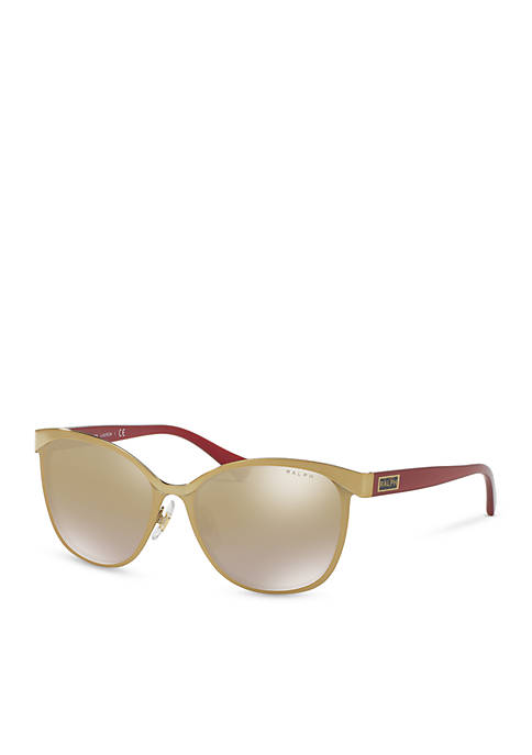 Ralph Lauren Ralph Logo Square Sunglasses