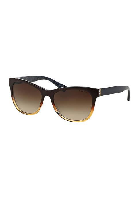 Ralph Lauren Ombre Wayfarer Sunglasses