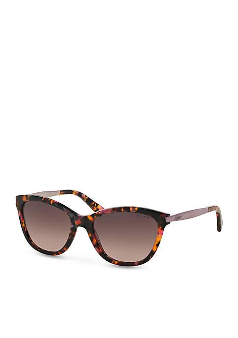 Ralph Lauren Havana Cateye Sunglasses