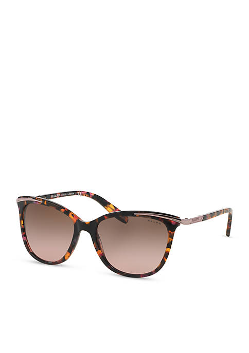 Ralph Lauren Combo Cateye Sunglasses