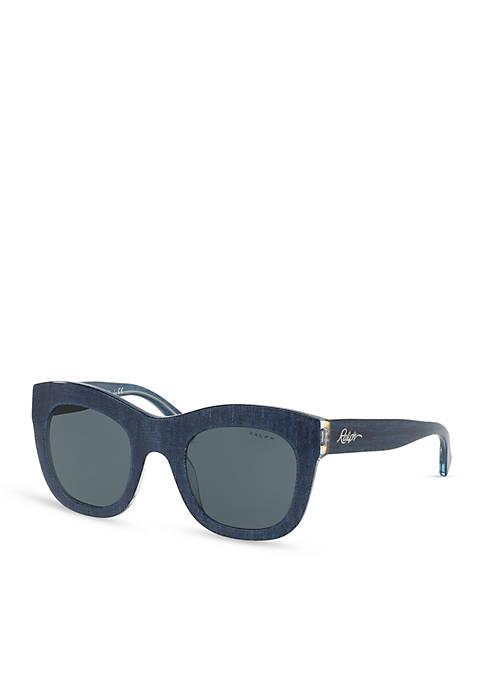 Ralph Lauren Large Oversized Square Sunglasses