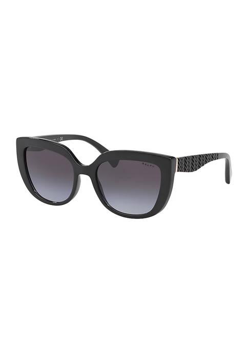 Ralph Lauren Textured Cat Eye Sunglasses