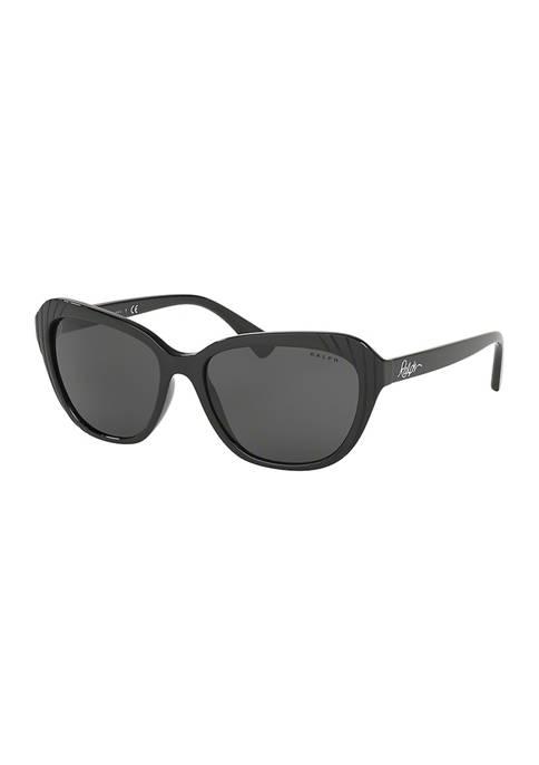 Ralph Lauren Square Hexagon Sunglasses