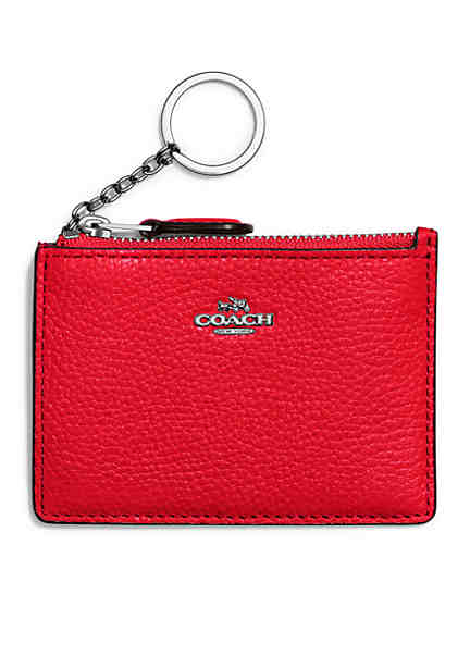 Card holders cases credit card wallets more belk coach mini id skinny card case colourmoves