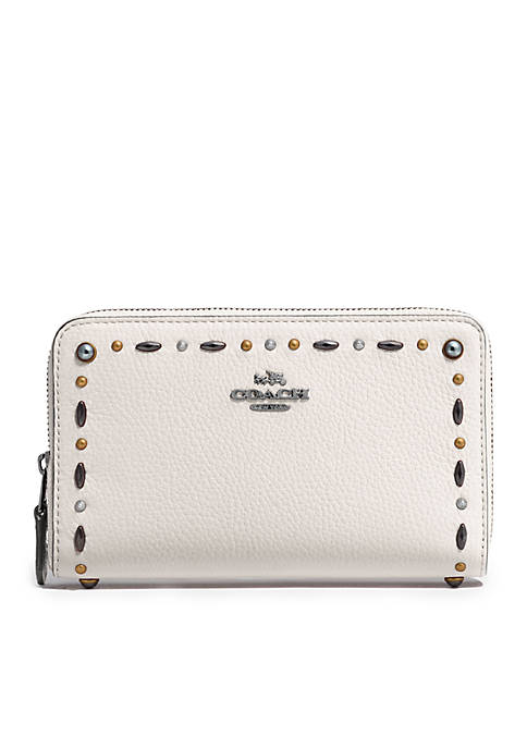 COACH Prairie Medium Zipper Wallet