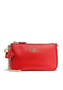 COACH Refined Calf Leather SG Nolita Wristlet 19