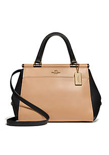 Colorblock Leather Grace Bag
