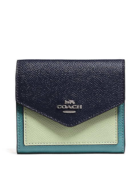 COACH Colorblock Small Wallet