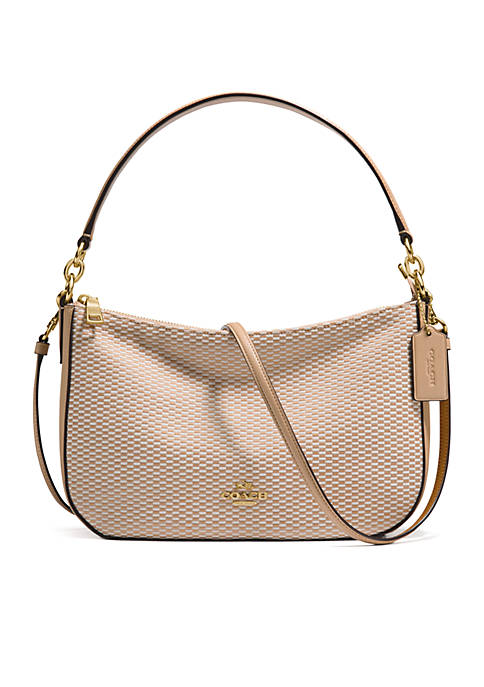 COACH Legacy Jacquard Chelsea Crossbody Bag