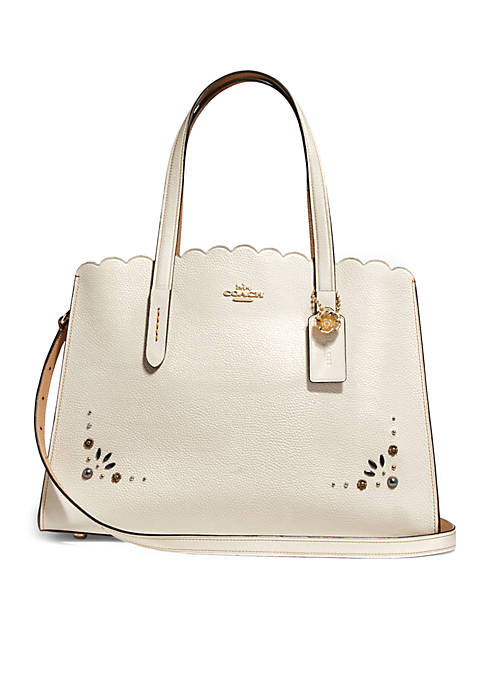 COACH Charlie Carryall With Prairie Rivets Detail Bag
