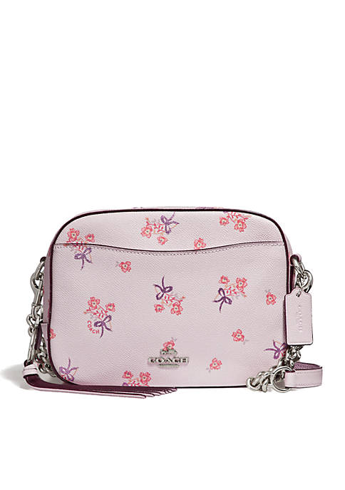 COACH Floral Bow Print Camera Bag