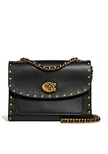 Border Rivets Parker 18 Shoulder Bag