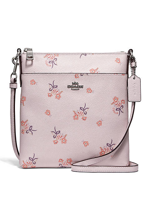 COACH Messenger Floral Bow Print Crossbody