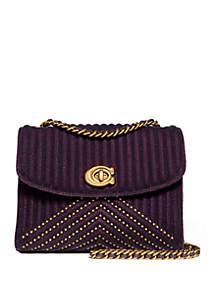 Parker 18 Velvet Shoulder Bag