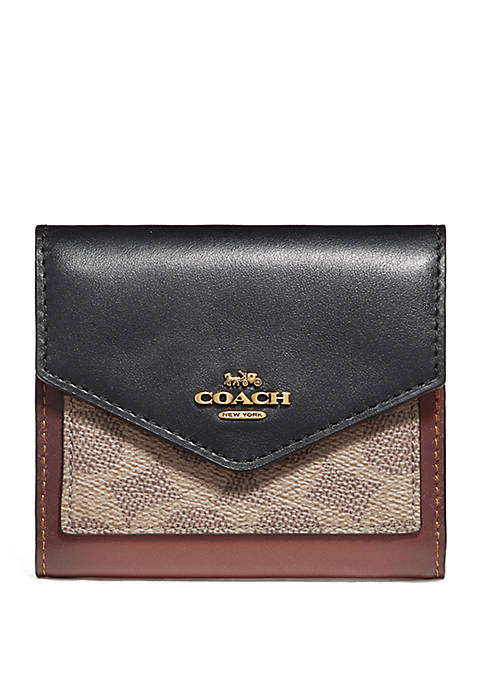 COACH Signature Logo Small Wallet