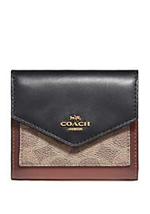 COACH Signature Logo Small Wallet