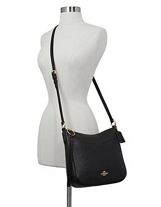 0dcdd0bb853029 COACH Pebble Leather Chaise Crossbody | belk