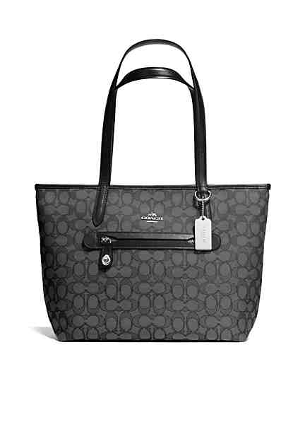 COACH Signature Jacquard Taylor Tote COACH undefined