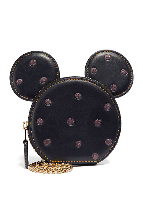 COACH Boxed Minnie Mouse Coin Case