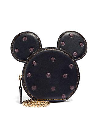 b1add9061e15 COACH Boxed Minnie Mouse Coin Case