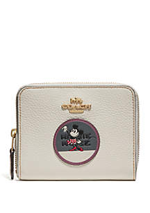 Boxed Minnie Mouse Small Zip Wallet