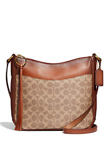 Chaise Signature Logo Crossbody Bag