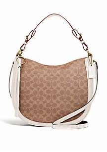COACH Signature Sutton Hobo Bag